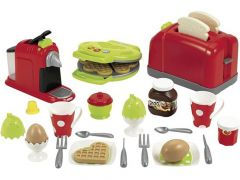 Ecoiffier Ontbijtset Met Wafels, Toaster En Nespresso