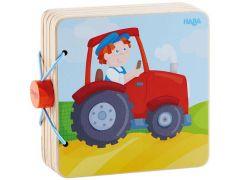 Haba Houten Babyboek Tractor