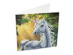 Rainbow Loom Crystal Card Kit Diamond Painting Sunshine Unicorn