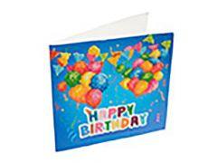Rainbow Loom Crystal Card Kit Diamond Painting Happy Birthday