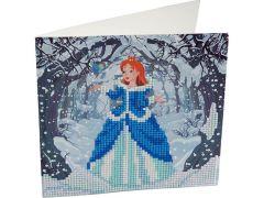 Rainbow Loom Crystal Card Kit Diamond Painting Enchanted Princess