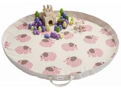 3 Sprouts Playmat Bag Olifant