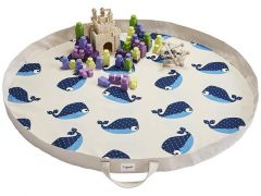 3 Sprouts Playmat Bag Walvis