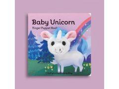 Vingerpopboekje Baby Eenhoorn