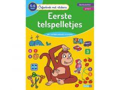 Oefenboek Met Stickers - Eerste Telspelletjes (5-6J)