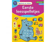 Oefenboek Met Stickers - Eerste Leesspelletjes (5-6J)