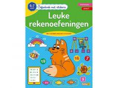 Oefenboek Met Stickers - Leuke Rekenoefeningen (6-7J)