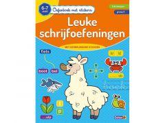 Oefenboek Met Stickers - Leuke Schrijfoefeningen (6-7J)