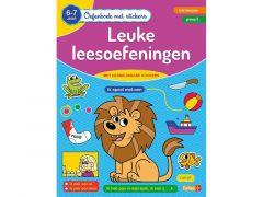 Oefenboek Met Stickers - Leuke Leesoefeningen (6-7J)