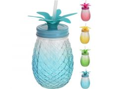 Drinkglas Met Rietje 400Ml 4Assortiment Prijs Per Stuk Kl