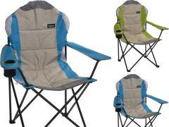 Vouwstoel Deluxe Metaal 2Assortiment Prijs Per Stuk 600D Polyester 108X60X60X43Cm