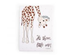 Schilderij Mama Giraf 30X40