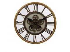 Hamilton Open Clock Inventions Gold Frame