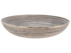 Schaal Bamboe D30Xh7Cm
