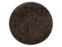 Tuscan Placemat Round Dia 38 Cm Coffee