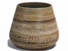 Basket Lombok Grey D27/40Xh33Cm