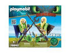 Playmobil 70042 Schorrie En Morrie In Vliegpak