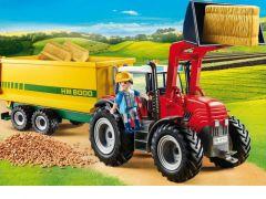 Playmobil 70131 Grote Tractor Met Aanhangwagen