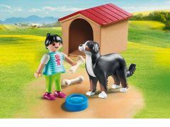 Playmobil 70136 Jongen Met Hond