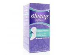 Always Dailies Normal 30St Fresh And Protect