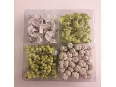 Box  4-Delig - Lrv-Pvc 02/14 Wit+Munt