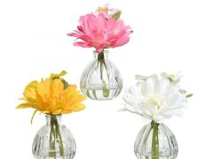 Pes Gerbera I Glass Vase 3Clas Assorted Dia13X15Cm