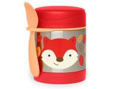 Zoo Insulated Food Jar Fox