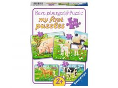P My First Puzzle 2-4-6-8 St. Favourit Animals