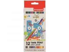 Bzl Kleurpotloden Twin Pnt Set 12#