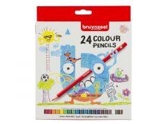 Bzl Kleurpotloden Karton Set 24#