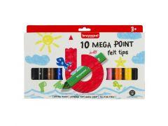 Bzl Viltstiften Megapnt Set 10