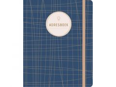 Adresboek Dark Blue