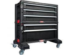 Keter Module Ladenkast 5 Lades  Zwart 599X378X599