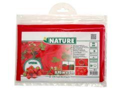 Mulch-/Kweekfolie Voor Aardbeien40Xø60 Mm - 0,95 X 5 M