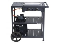 Barbecook Victor Plancha + Trolley