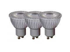 Lucide Lamp Led 3Xgu10/5W Dimbaar 320Lm 3000K Grijs