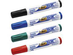 Blister 3+1 Bic Whiteboard Marker Velleda