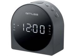Muse M 185 Cr Clock Radio/Black