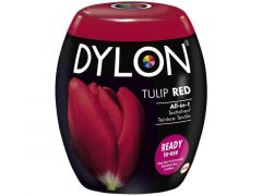 Dylon Color Fast Bol Nr 36 Tulip Red + Zout 350G