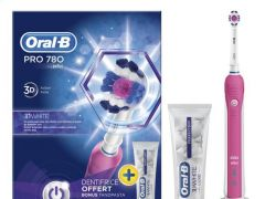Oral B Pro 780 Tandenborstel + Oral B Tandpasta