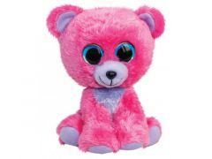 Lumo Stars Knuffeldier Lumo Bear Raspberry - Classic - 15Cm