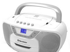 Roadstar Boombox Usb / Cassette Player White