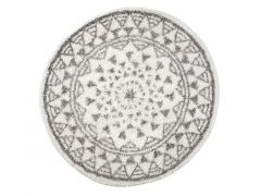 Berber Tapijt - Katoen Antislip, Dia 65Cm, Mandala