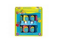 Crayola Mini Kids 8 St. Afwasbare Vingerverf
