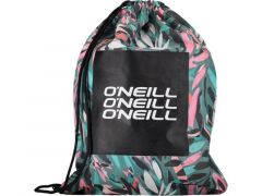 Oneill Bm Graphic Gym Sack Green Aop