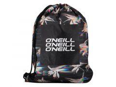 Oneill Bm Graphic Gym Sack Black Aop