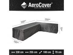 Aerocover Lounge Hoes L-Vorm 330X255X100Xh70Cm Anthraciet