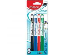 Maped Whitebord Viltstiften 4 Stiften