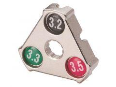 Nippelsleutel Chroom 3,2/3,3/3,5 Mm