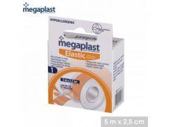 Megaplast - Elastic - Sparadraps Couleur Chair X1Pcs 5Mtr X 2,5Cm